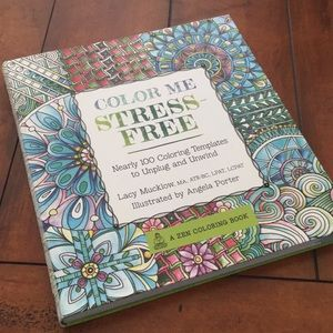 Stress Free Coloring Book